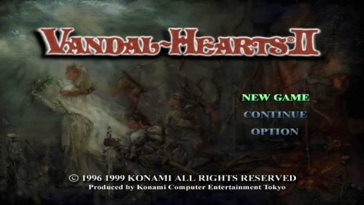 Vandal Hearts II Review(PSX)